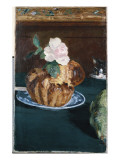 Still Life with Brioche, C.1880 Giclee Print by Édouard Manet