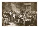 Trial of Archbishop Laud Giclee Print by Alexander Johnston