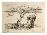 In the Orchard 1883 Giclee Print by Vincent van Gogh
