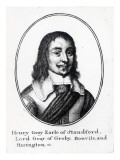 Henry Grey, 1st Earl Stamford Giclee Print by Wenceslaus Hollar
