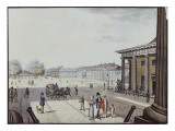 The Paris Square, Berlin Giclee Print by F.A. Calau