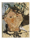 Portrait of Picasso, 1915 Giclee Print by Modigliani 
