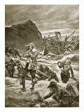Wrecked Upon the Bermudas, 1609 Giclee Print by Richard Caton Woodville II
