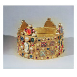 The Crown of Hildesheim Giclée-tryk af German School