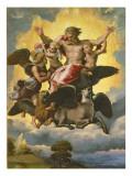 Vision of Ezekiel, C.1518 Reproduction procédé giclée par  Raphael