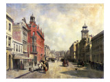 View of Queen Street, Auckland Giclee Print by Jacques Carabain