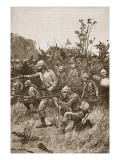 The Bonny Men Led the Advance&#39; Giclee Print by Richard Caton Woodville
