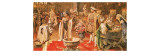 The Court of King Henry Viii Giclee Print by Fortunino Matania