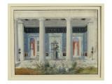 Garden Portico, C.1834 Giclee Print by  German School