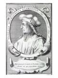 Niccolo Machiavelli, 1724 Giclee Print by Francois Morellon la Cave