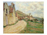 The Rocks at Falaise Giclee Print by Claude Monet