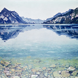 Thunersee Von Leissigen Giclee Print by Ferdinand Hodler