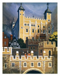 The Tower of London Giclee Print by  Mcbride
