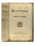 Legal Procedure of 1776 Giclee Print by  German School