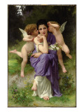 Chansons De Printemps, 1889 Giclee Print by William Adolphe Bouguereau