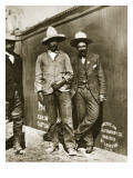 Pancho Villa and Two Rebels Giclee Print