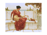 The Favourite, 1901 Giclee Print by John William Godward