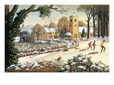 Focus on Christmas Time Lámina giclée por Ronald Lampitt