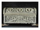 Sarcophagus of Bishop Theodore Giclee Print by  Byzantine School