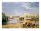View of Coimbra, Portugal Giclee Print by James Holland