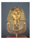 The Funerary Mask of Tutankhamun Giclee Print by Egyptian 18th Dynasty
