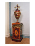 Urn and Pedestal, C.1771 Giclee Print by Thomas Chippendale