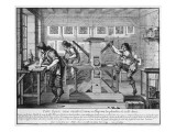 French Printing Press, 1642 Giclee Print by Abraham Bosse
