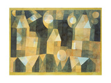 Three Houses and a Bridge, 1922 Giclee Print by Paul Klee