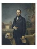 Otto Von Bismarck, C.1850 Giclee Print by  German School