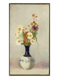Flowers in a Vase Giclee Print by Odilon Redon