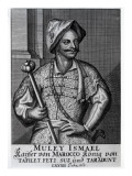 Moulay Ismail Ibn Sharif, 1719 Giclee Print by  German School