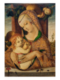 Virgin and Child, C.1480 Giclee Print by Carlo Crivelli