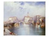 Venetian Canal, 1896 Giclee Print by  Moran