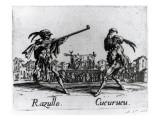 Balli De Sfessania, C.1622 Giclee Print by Jacques Callot