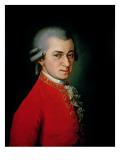 Wolfgang Amadeus Mozart, 1818 Giclee Print by Barbara Krafft