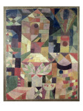 Castle Garden, 1919 Reproduction procédé giclée par Paul Klee