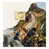 The Great Wall of China Giclee Print by Andrew Howat