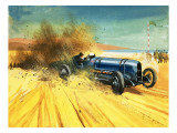 The Fastest Men on Earth! Giclee Print by  Tacconi