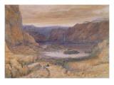 A Mountain Lake, Norway, C.1827 Giclee Print by James Francis Danby