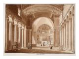 San Pietro in Vincoli, 1833 Giclee Print by Agostino Tofanelli