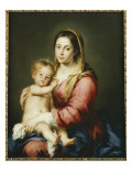 Virgin and Child Giclee Print by Bartolome Esteban Murillo