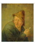 The Smoker, 1640 Giclee Print by Adriaen Jansz. Van Ostade