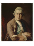 Johann Christian Bach, 1776 Giclee Print by Thomas Gainsborough