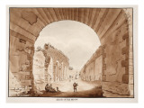 The Acqua Marcia, 1833 Giclee Print by Agostino Tofanelli