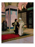 After Prayers at the Mosque Giclee Print by Ernst