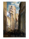 Wall Street, New York, C.1905 Giclee Print by Colin Campbell Cooper