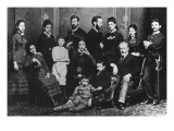 The Freud Family, C.1876 Giclee Print by Austrian Photographer