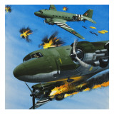 The Dependable Dakota Giclee Print by Wilf Hardy
