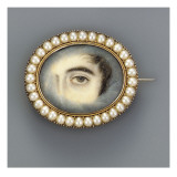Eye Portrait, C.1830 Giclee Print by English School