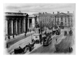 College Green, Dublin, C.1900 Giclee Print by  Irish Photographer